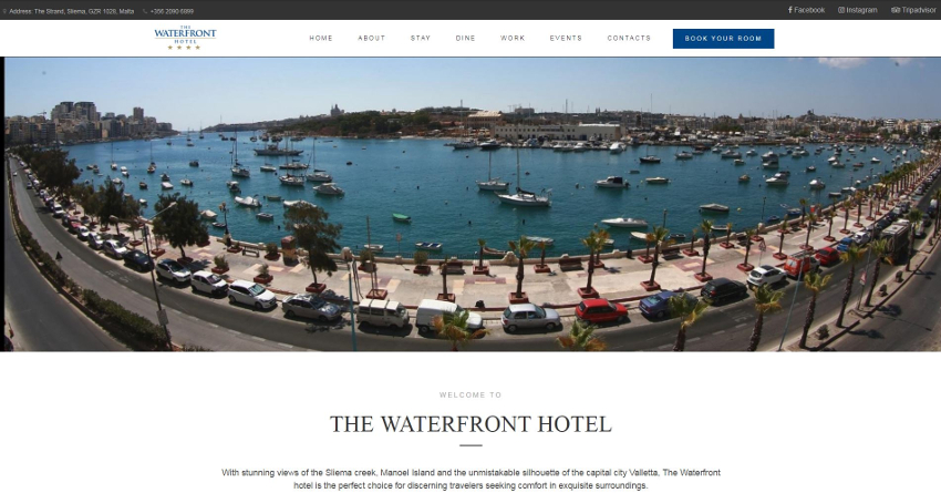 The Waterfront Hotel - Home Page